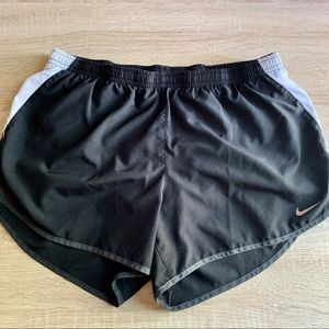 NIKE DRI-FIT RUNNING SHORTS BLACK SZ XL